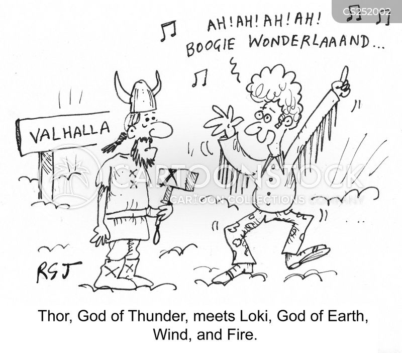 thunder cartoon