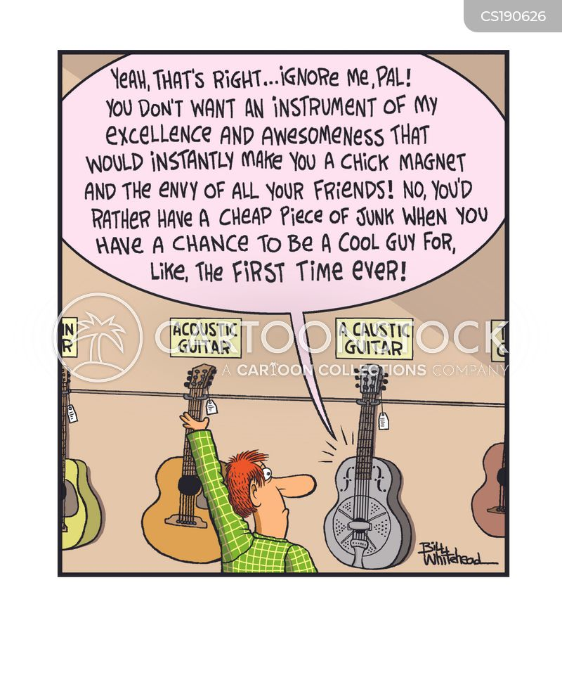 Guitar Shop cartoons, Guitar Shop cartoon, funny, Guitar Shop picture, Guitar Shop pictures, Guitar Shop image, Guitar Shop images, Guitar Shop illustration, Guitar Shop illustrations
