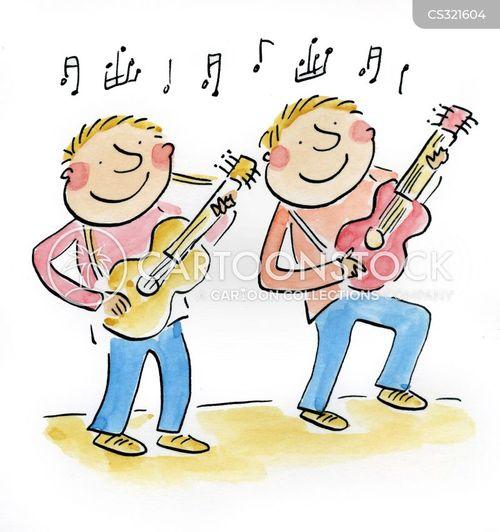 acoustic cartoon