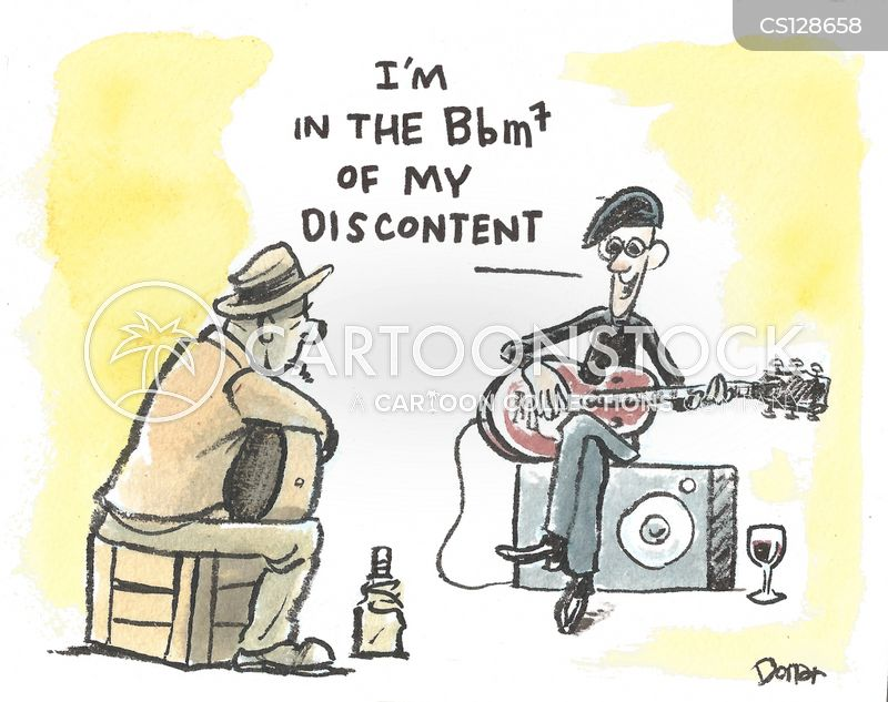 music jargon cartoon