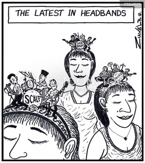 headbands cartoon