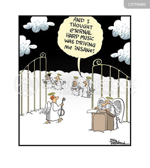 banjos cartoon