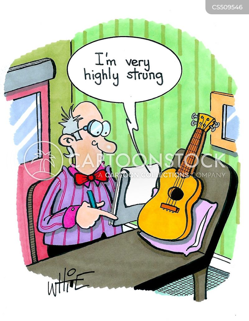 ukulele cartoon
