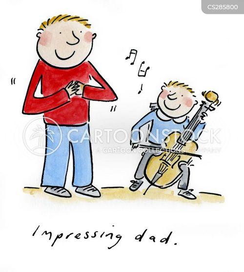 music classes cartoon