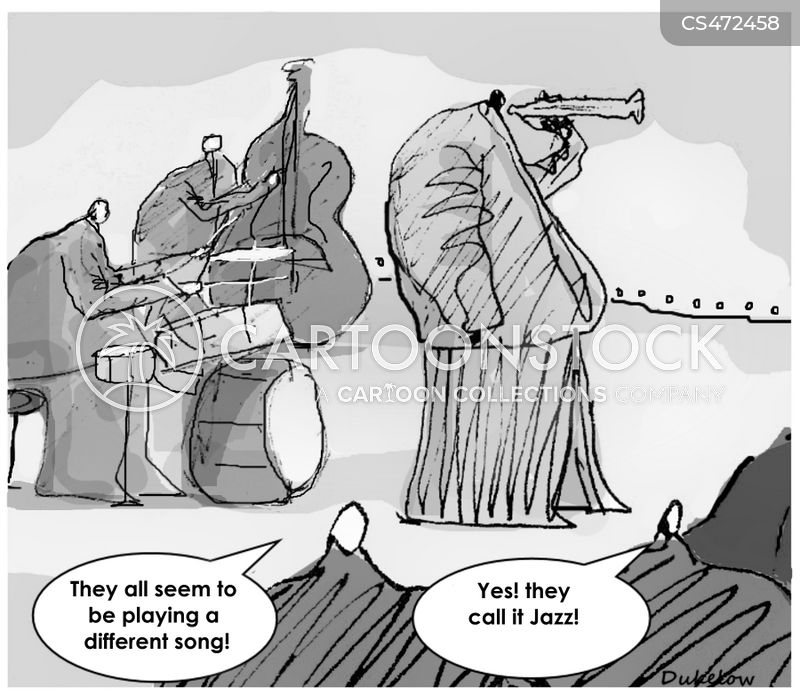 tuneful cartoon