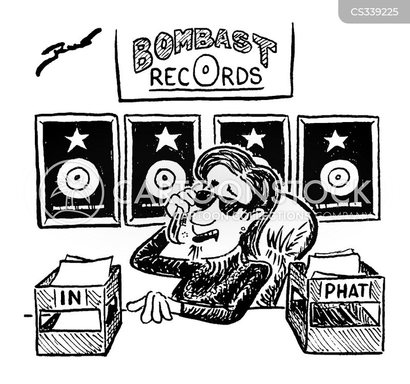 record producers cartoon