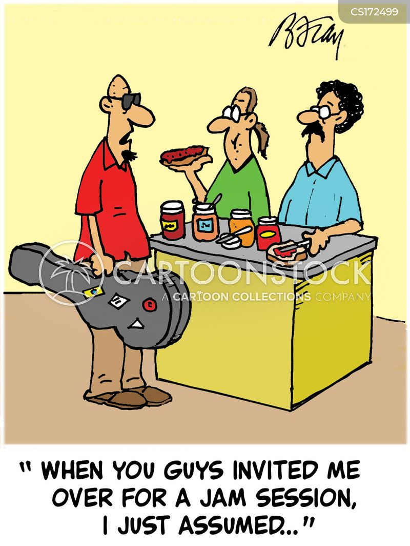 invited cartoon