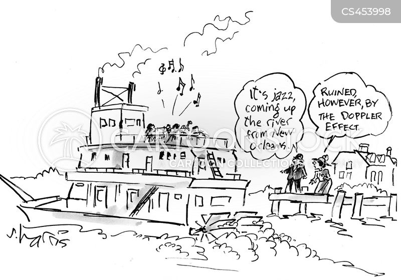 river boat cartoon