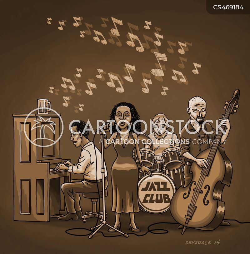 Jazz Clubs cartoons, Jazz Clubs cartoon, funny, Jazz Clubs picture, Jazz Clubs pictures, Jazz Clubs image, Jazz Clubs images, Jazz Clubs illustration, Jazz Clubs illustrations