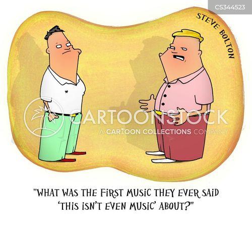 musical trend cartoon