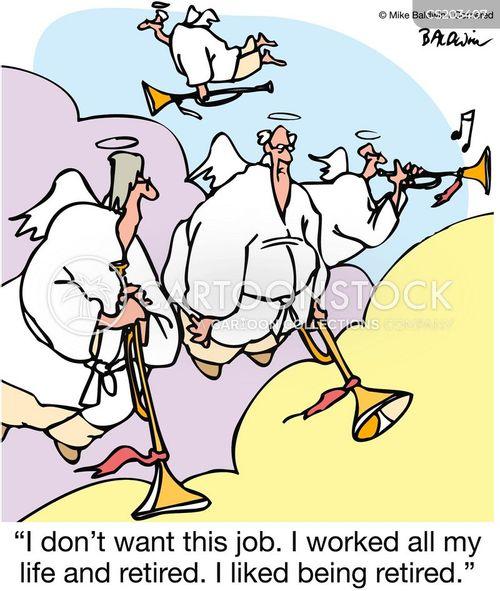trumpets cartoon