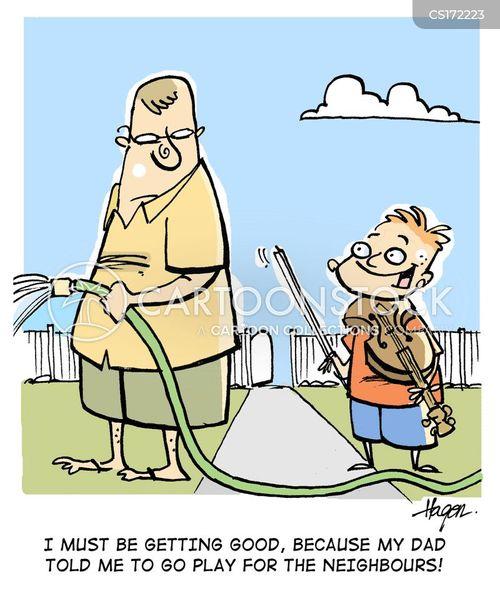 daddy cartoon