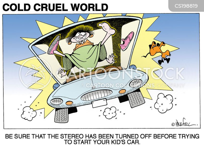 turned off cartoon