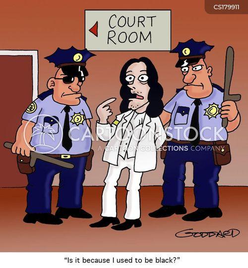 prejudicial cartoon