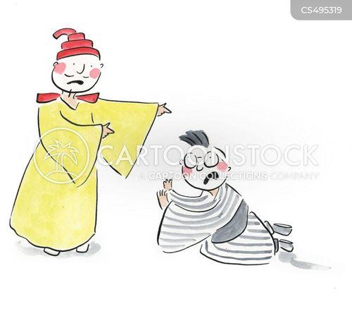 gilbert and sullivan cartoon