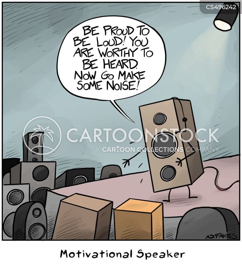 subwoofer cartoon