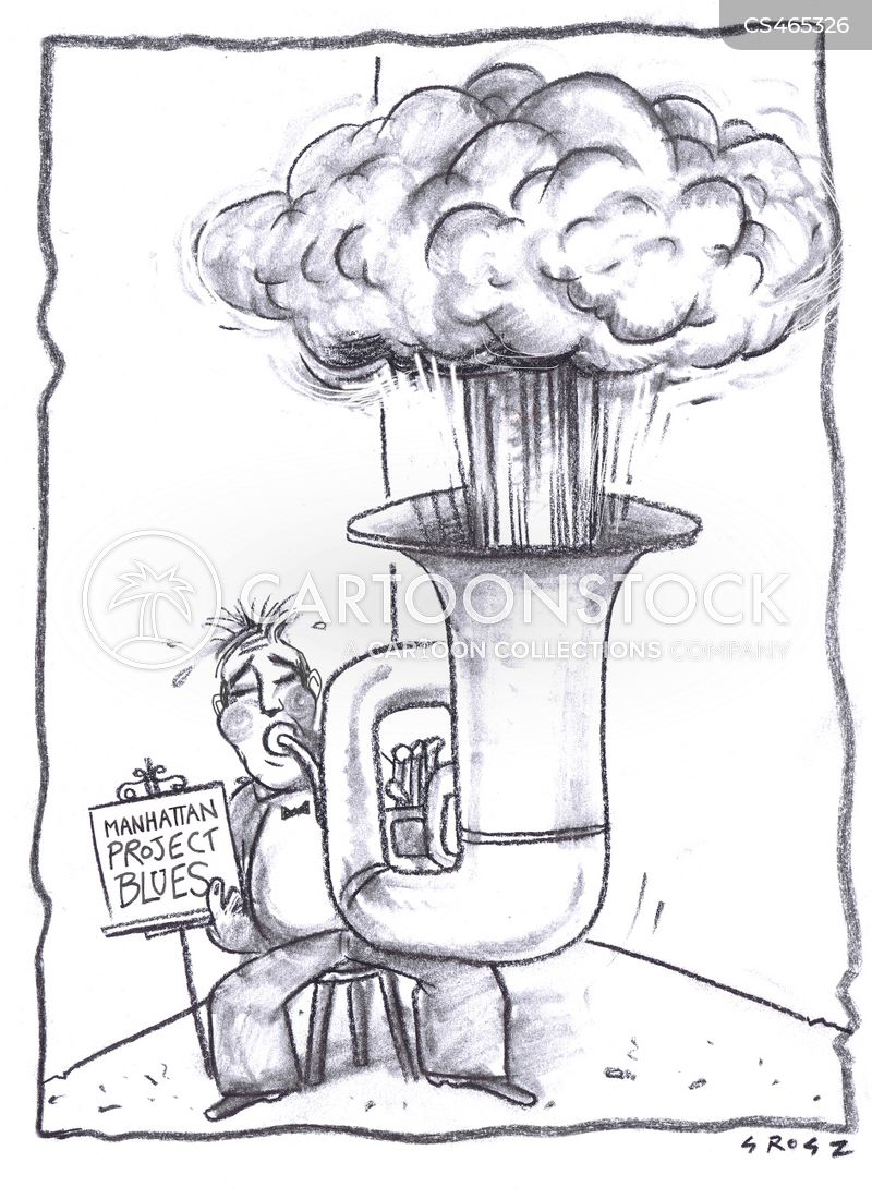 hydrogen bombs cartoon