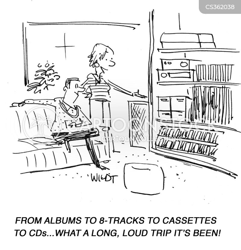cassette cartoon