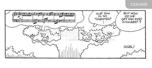juilliard cartoon
