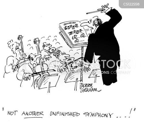 orchestral cartoon