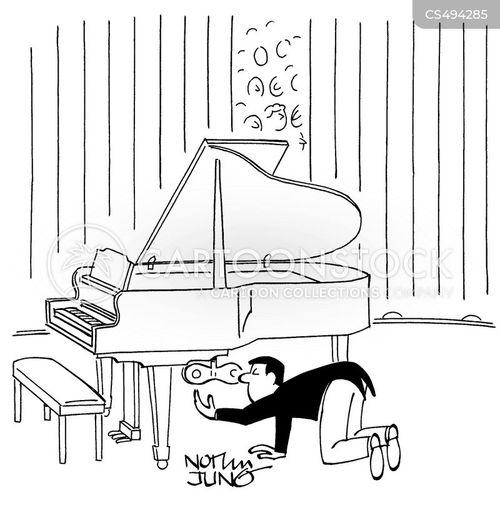 classical concerts cartoon