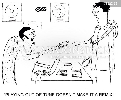 remixing cartoon