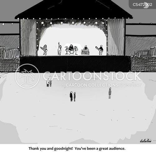 ticket sales cartoon
