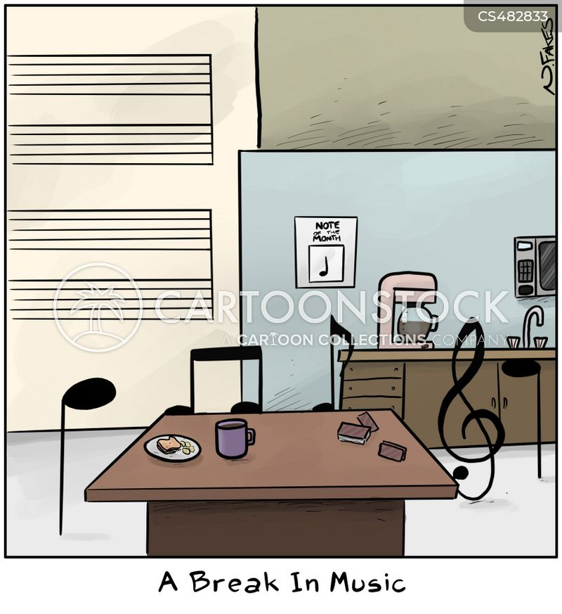 music note cartoon