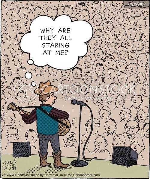 playing guitar cartoon