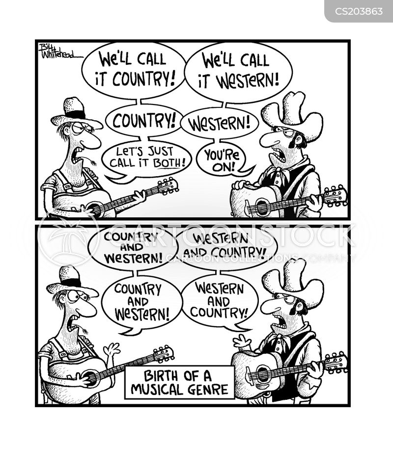Country Music Cartoons Country Music Cartoon 10 of 59
