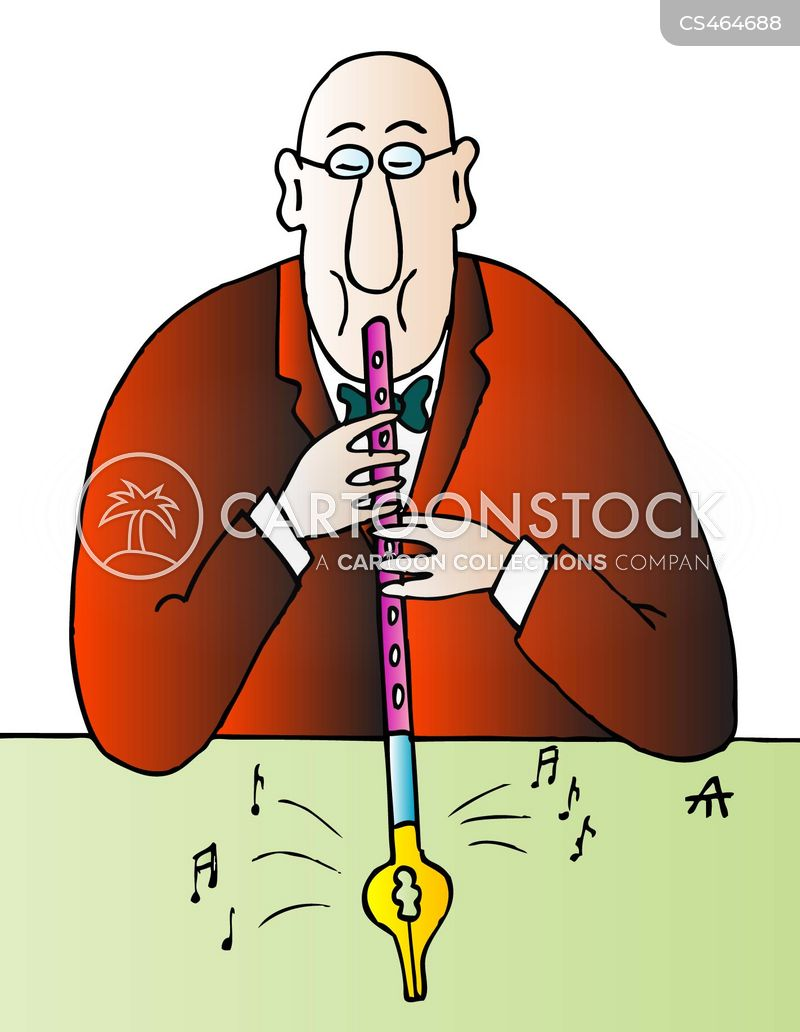 Flutists cartoons, Flutists cartoon, funny, Flutists picture, Flutists pictures, Flutists image, Flutists images, Flutists illustration, Flutists illustrations
