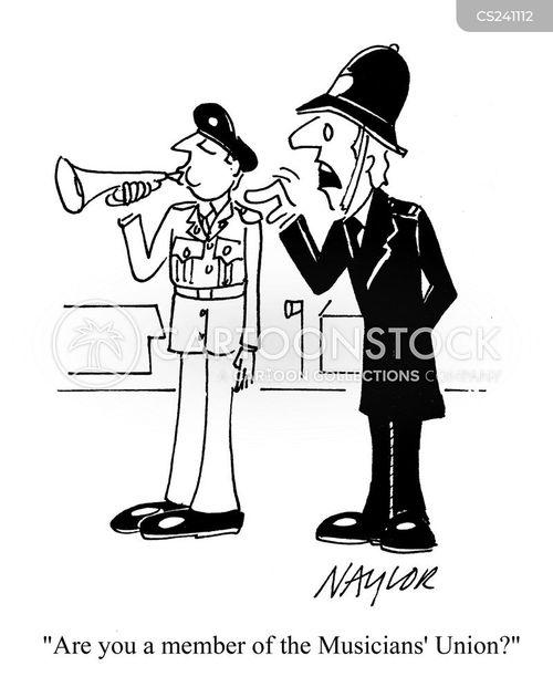 military bands cartoon