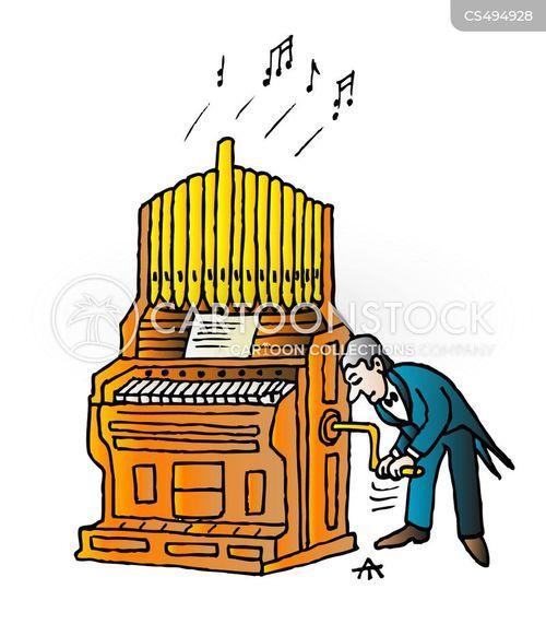 church musics cartoon