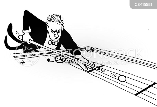 snooker table cartoon