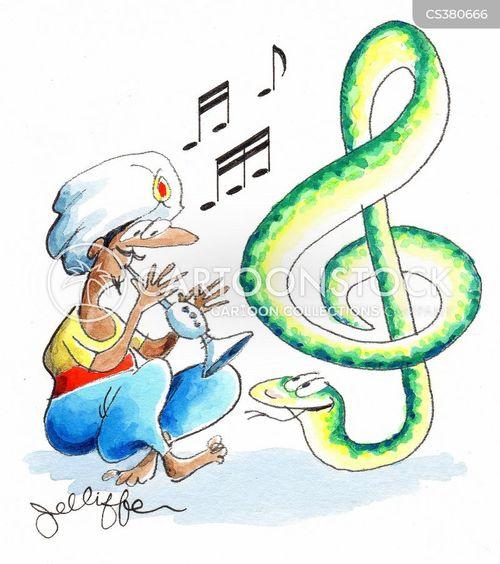 street music cartoon