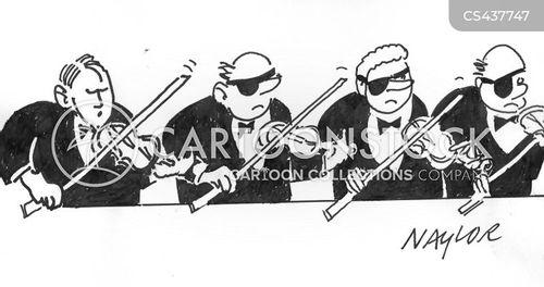 violin bow cartoon