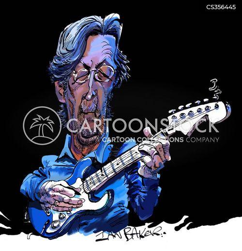 eric clapton cartoon