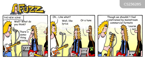 band member cartoon