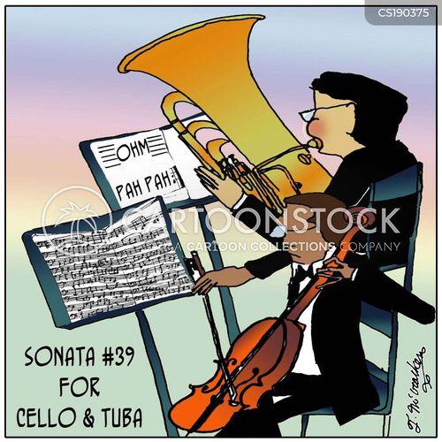 brass section cartoon