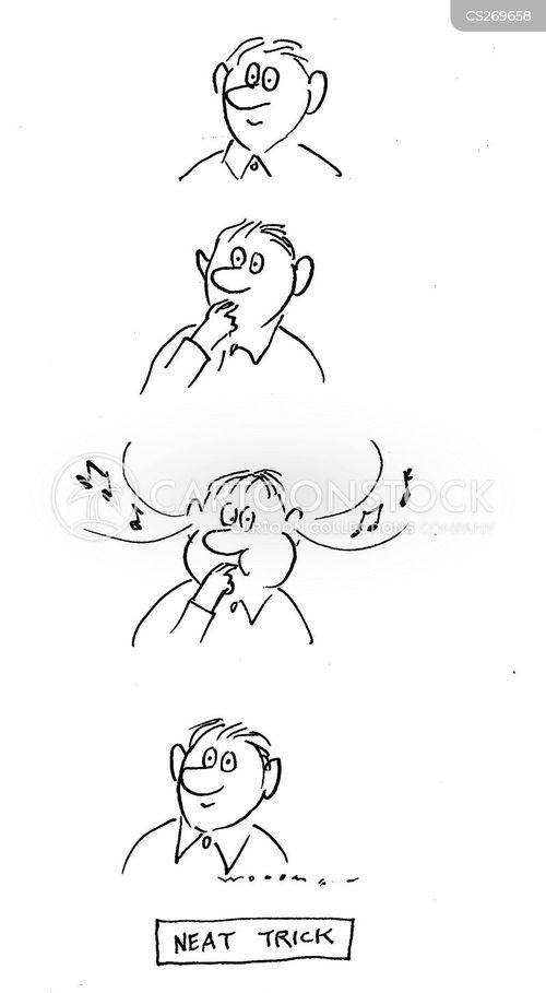 making music cartoon