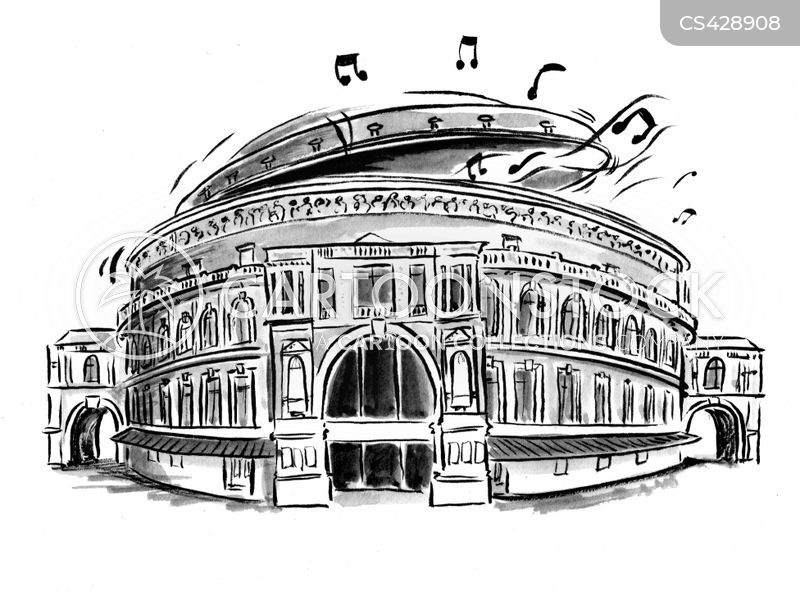music halls cartoon