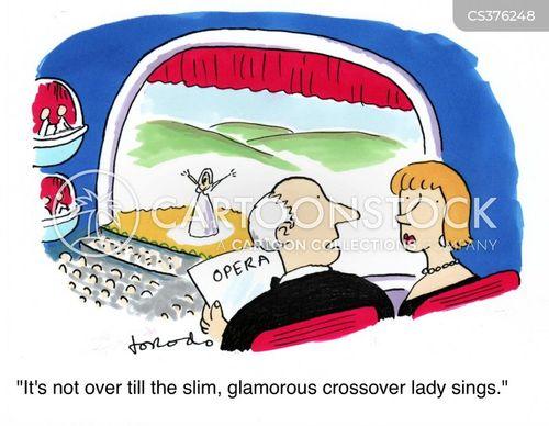 operatic cartoon