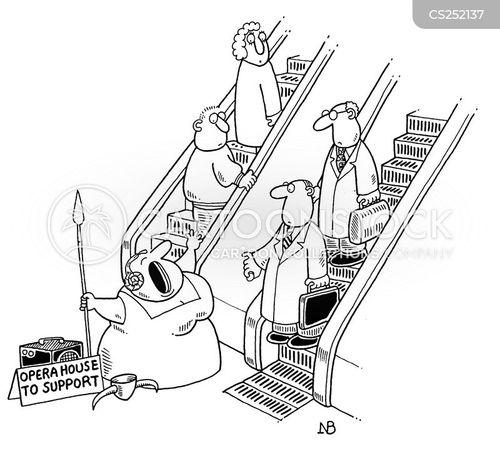 opera house cartoon