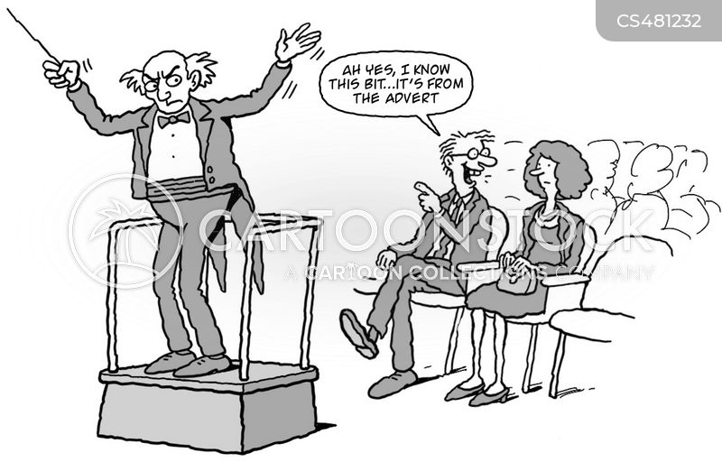 theater etiquette cartoon