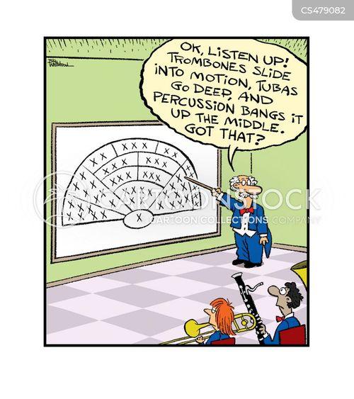 philharmonic orchestra cartoon
