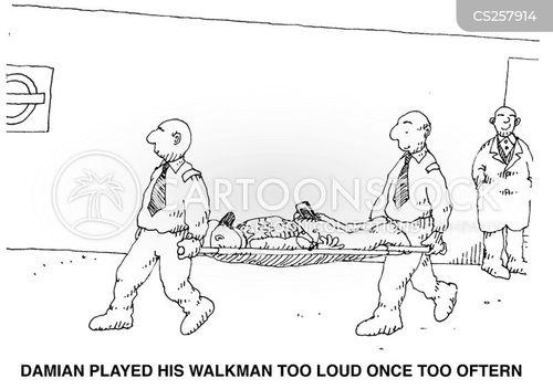 sony walkman cartoon