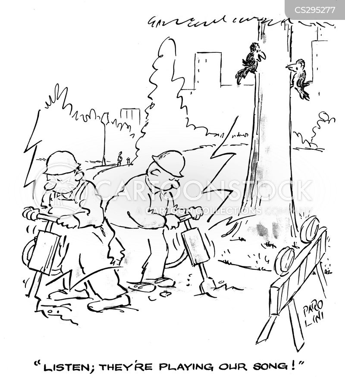 pneumatic drill cartoon