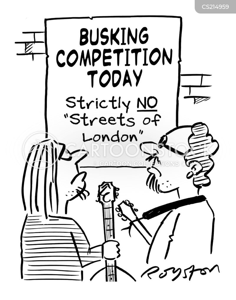 singing competitions cartoon