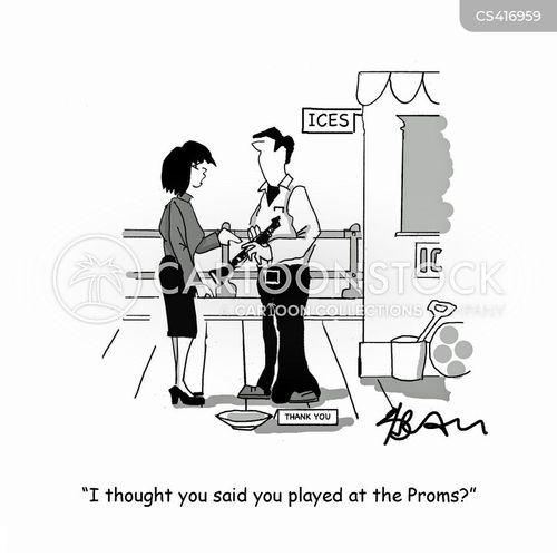 proms cartoon