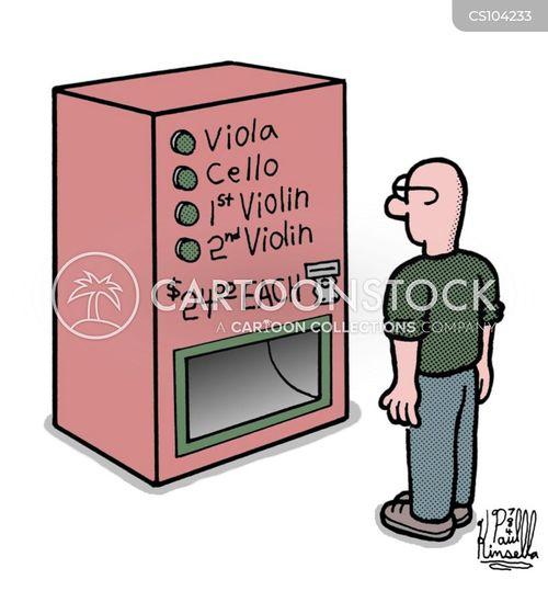 violas cartoon